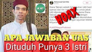 Video Apa Jawaban UAS Dituduh Punya Istri 3 MP3, 3GP, MP4, WEBM, AVI, FLV April 2019
