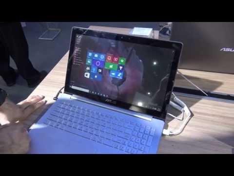 Asus ZenBook UX501JW Hands ON [4K UHD]