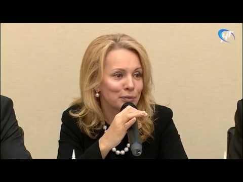 Великий Новгород посетила первый заместитель Министра образования и науки России Наталья Третьяк