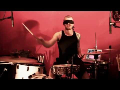 Awesome Aphex Twin drum cover, completely nails it.