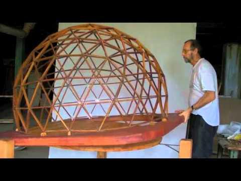Dome geodesic F4- Cupula geodesica - Geodätische Kuppel