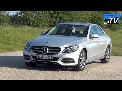 2015 Mercedes C 180 (156hp) – DRIVE & SOUND (1080p)