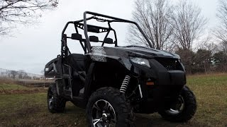 4. 2017 ARCTIC CAT PROWLER HDX WALK AROUND AND SPEED TEST