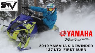 9. 2019 Yamaha Sidewinder 137 LTX