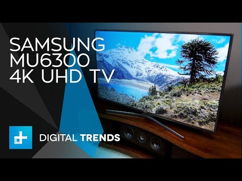 Samsung MU6300 4K UHD TV - Hands On Review