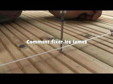 Beautiful Comment Construire Terrasse Beton With Comment Poser Les Lames De  Terrasse.