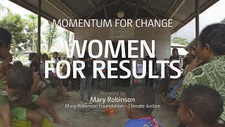 Momentum for Change: Women For Results