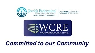 WOLF COMMERCIAL REAL ESTATE COMMUNITY COMMITMENT VIDEO WITH JEWISH FEDERATION OF SOUTHERN NEW JERSEY