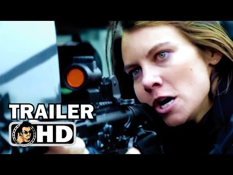 MILE 22 Red Band Trailer (2018) Mark Wahlberg, Lauren Cohan Action Movie HD
