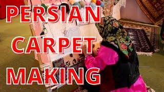 Persian Carpet Making At Muscat Festival 2013