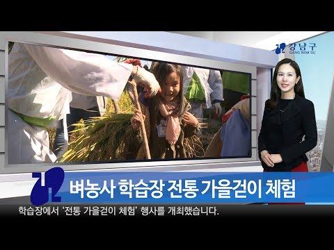 2018년 10월 둘째주 강남구 종합뉴스