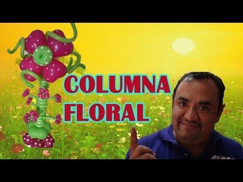 COLUMNA FLORAL CHASTY