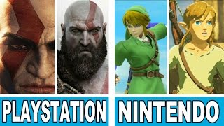 The Evolution Of Graphics: PlayStation vs. NintendoLIKE THIS VIDEO & SUBSCRIBE