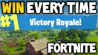 How to win every time : FORTNITE Battle Royale  - EASY - Xbox One, Playstation 4 or PC