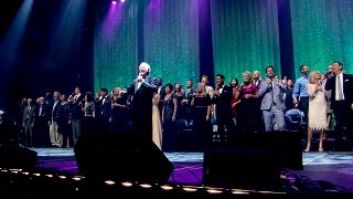 From our 45th Anniversary Reunion Concert on July, 2016.With over 3 hours of memorable music, a bonus section featuring a special tribute to Max and Lucy, plus behind-the-scenes footage, we are very excited about the release of our 45th Anniversary Reunion Concert! We've captured what was an unprecedented and unforgettable evening of music, praise and celebration on Blu-ray, DVD and CD.Relive that awe-inspiring evening with over 130 Heritage Singers on stage!The 45th Reunion Concert CD (music only) features 37 songs - including 6 medleys, is available now for purchase. The Blu-ray DVD, and the regular DVD are also both available now! Call us: (530) 622-9369 or visit our web store: http://heritagesingers.com/store. Our office hours are Monday -Thursday, 8:30 AM - 5 PM (PST).
