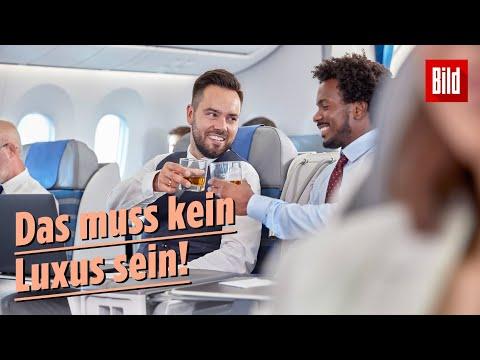Mit diesen Airlines fliegen Passagiere am liebsten