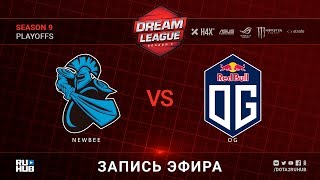 NewBee vs OG, DreamLeague, game 1 [Lex, Maelstorm]