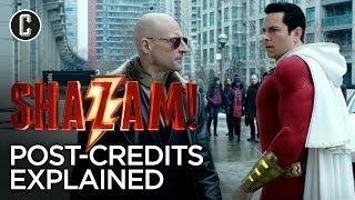 Shazam Post-Credits Scene Explained