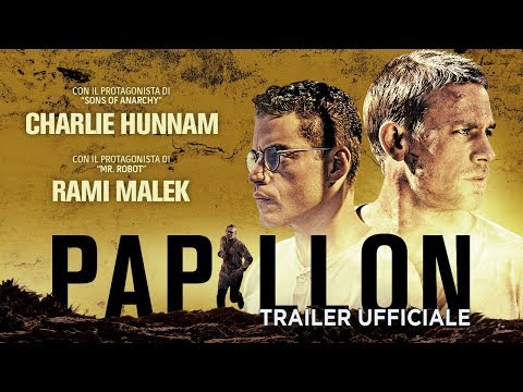 Preview Trailer Papillon, trailer italiano ufficiale
