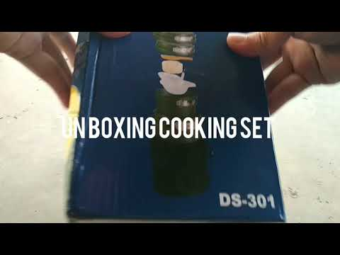 Un Boxing Cooking Set Out Of Door-DS.301
