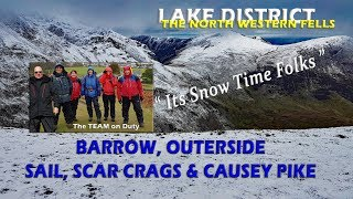 28th February 2017 and the Fells have just have another dusting of snow. With it not being thick snow our adventure did not require ice axes or crampons but the ...