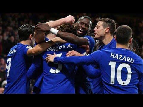 Chelsea vs Arsenal 2-2 2018 All Goals & Highlights Full HD