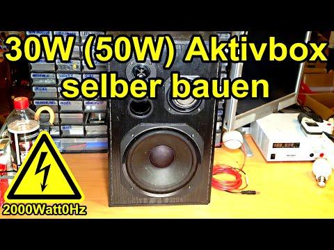 50W Aktivbox selber bauen (12V, 25€)