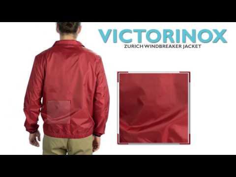 Victorinox Swiss Army Zurich Windbreaker Jacket (For Men)