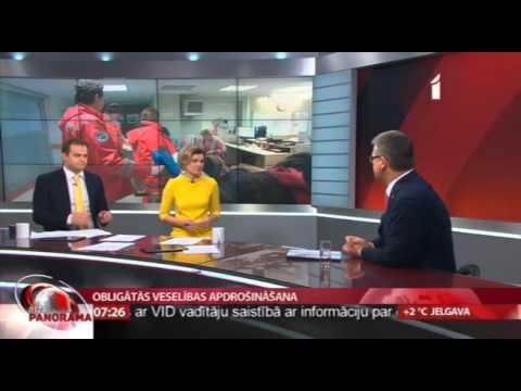 """Veselības ministra Dr. Gunta Belēviča intervija LTV """"Rīta Panorāma"""""""