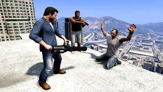 GTA V Franklin And Michael kill Trevor
