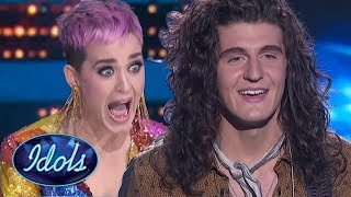 Video Katy Perry FREAKS OUT After Cade Foehner ROCKS American Idol! MP3, 3GP, MP4, WEBM, AVI, FLV September 2018