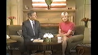 Video Good Morning America 9-11-01 - ABC Network Live as Tragedy Occurred MP3, 3GP, MP4, WEBM, AVI, FLV September 2019