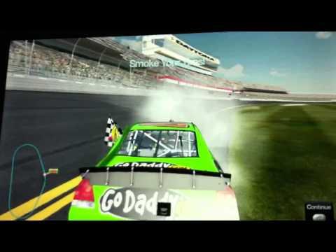 NASCAR The Game Inside Line Danica Wins The Daytona 500!