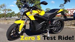 2. Zero S Electric Motorcycle Test Ride | Torque Monster!