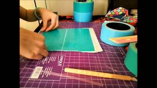 Duct Tape Pencil Case Time Lapse !!!