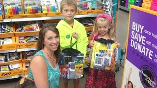 Donate School Supplies at Walmart | Champions for Kids!