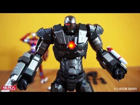 千值練 – RE:EDIT 《鋼鐵人》戰爭機器 開箱