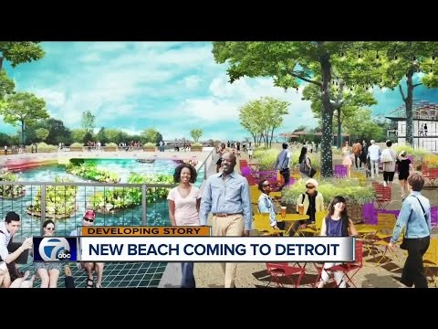 New beach coming to Detroit