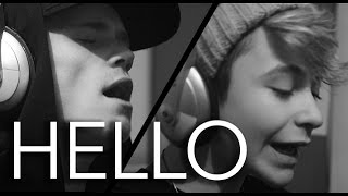 Video Adele -  Hello (Bars and Melody Cover) download in MP3, 3GP, MP4, WEBM, AVI, FLV January 2017