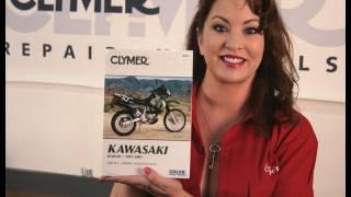 10. Clymer Manuals Kawasaki KLR650 Manual KLR Manual Shop Repair Maintenance advrider.com Video