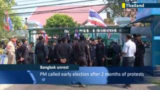 Thailand Anti-government Protesters Force Polling Station Closure