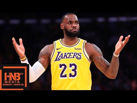 Los Angeles Lakers vs San Antonio Spurs Full Game Highlights   10.22.2018, NBA Season