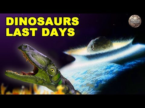 A Breakdown of the End of the Dinosaur Era