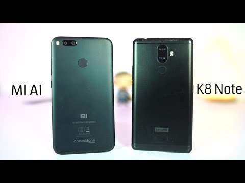 MI A1 vs Lenovo K8 Note Speed Test
