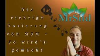 Video Right one !!! Dosage of MSM sulfur own MP3, 3GP, MP4, WEBM, AVI, FLV Agustus 2018