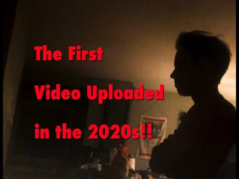 The First YouTube Video of the 2020s