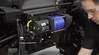 9. RANGER XP® 1000  Polaris® PRO HD Winch with Rapid Rope Recovery Install | Polaris Off-Road Vehicles
