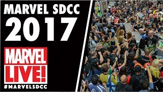Can't make it to the convention? Tune in each day of San Diego Comic-Con for live coverage straight from the Marvel Booth. Plus, get real-time announcements from the convention floor; up-to-the-minute panel, in-booth and signing schedules of all your favorite Marvel creators; and see exclusive videos! ► Subscribe to Marvel: http://bit.ly/WeO3YJDon't forget to visit http://www.marvel.com/sdcc2017 , the best way to watch Marvel's live streaming video coverage! Follow Marvel on Twitter: ‪https://twitter.com/marvel‬‬Like Marvel on FaceBook: ‪http://www.facebook.com/Marvel‬‬For even more news, stay tuned to:Tumblr: ‪http://marvelentertainment.tumblr.com/‬‬Instagram: ‪http://instagram.com/marvel‬‬Google+: ‪https://plus.google.com/+marvel/‬‬Pinterest: ‪http://pinterest.com/marvelofficial/‬‬