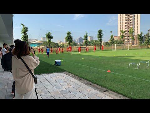 U.23 VIỆT NAM luyện tập chuẩn bị cho trận GIAO HỮU gặp U.23 MYANMAR - Thời lượng: 21:36.