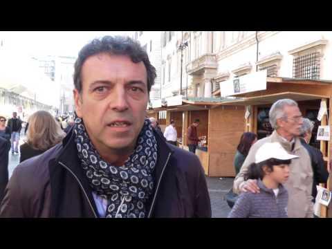 Sergio Silvani (Movimento Cristiano Lavoratori) alla Marcia per la Terra 2015